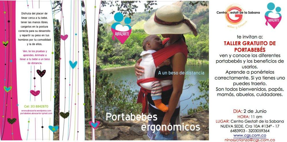 Taller Abrazarte Portabebés Bogotá, Junio 2012 (1/2)