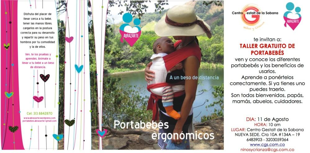 TALLERES PORTABEBES Abrazarte Agosto 2012